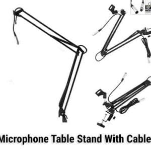 Microphone Table Stand With Cable