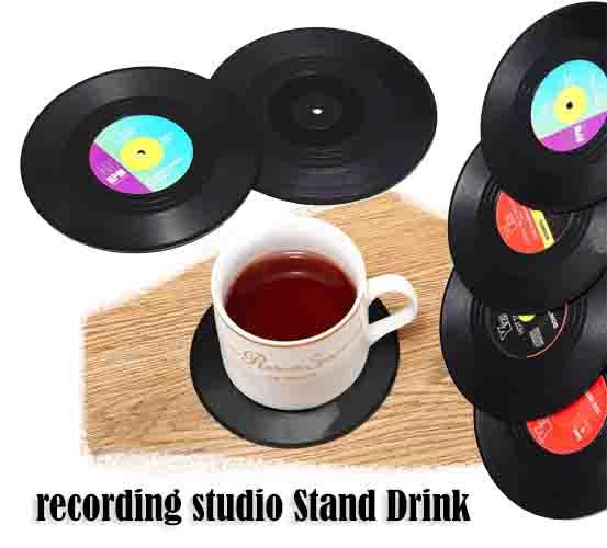 recording studio Stand Drink