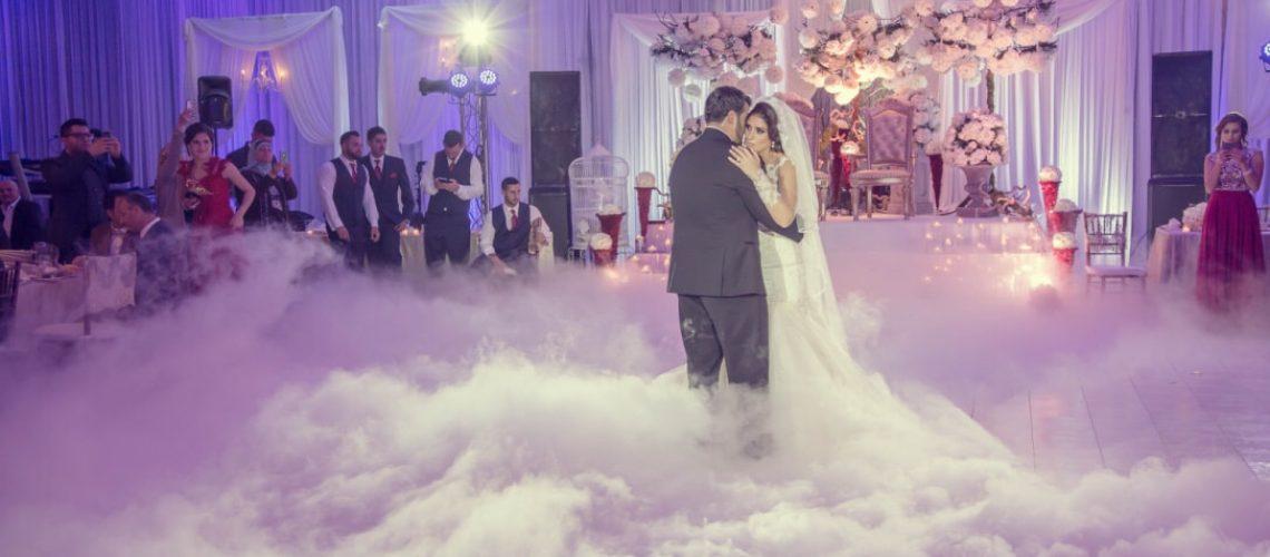 עשן לחתונה מחיר